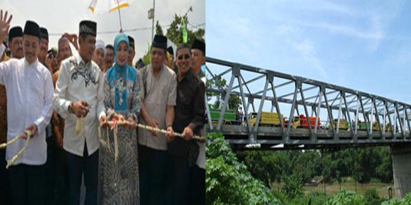 pdip-jatim-peresmian-jembatan-kelutan
