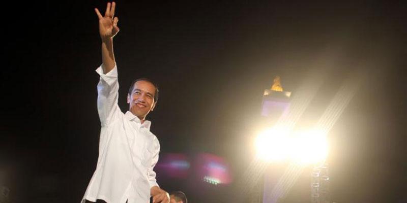 Pengumuman Resmi Pencapresan Jokowi