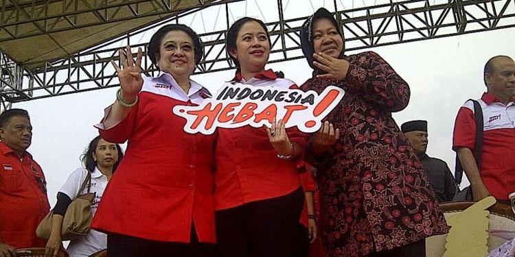 pdip-jatim-Mega-Puan-Risma-Indonesia-Hebat