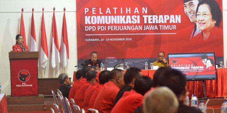 Jadi Corong Partai, Kader PDIP Jatim Ikuti Pelatihan ...
