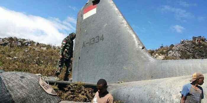 Jokowi Sampaikan Duka Cita untuk Korban Jatuhnya Pesawat TNI AU di Wamena