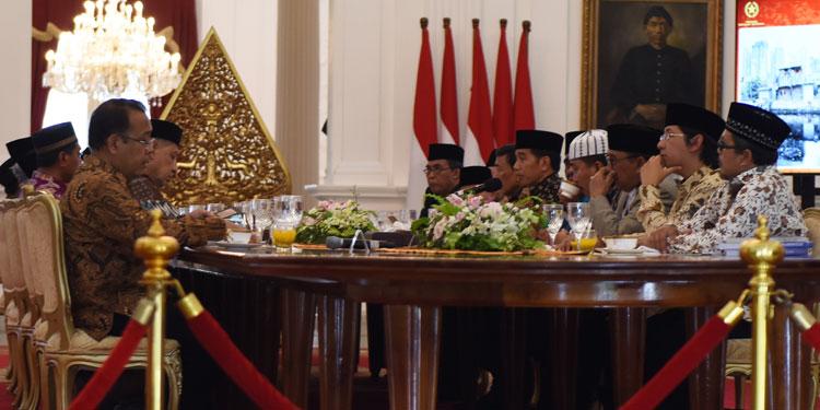 Jokowi Berterima Kasih kepada Ulama yang Telah Mendinginkan Suasana