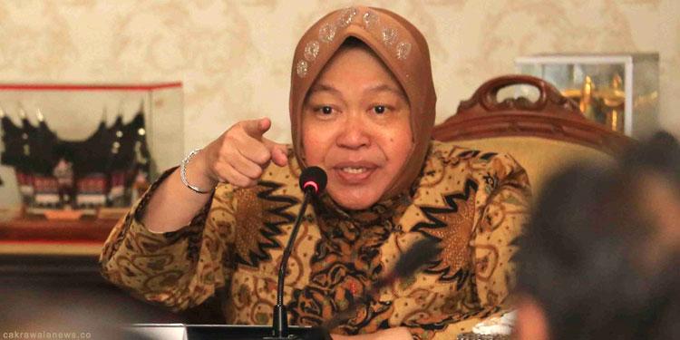 Risma Berharap Surabaya Tetap Damai di Tahun Politik