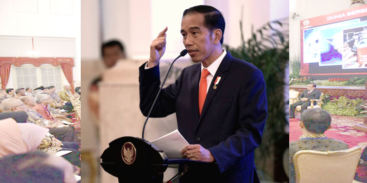 Pimpin Rapat Dana Desa, Ini Instruksi Jokowi