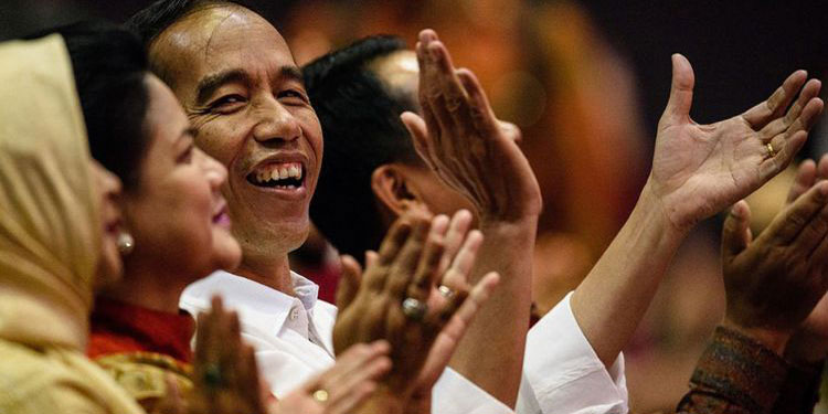 Jokowi Berlebaran di Jakarta