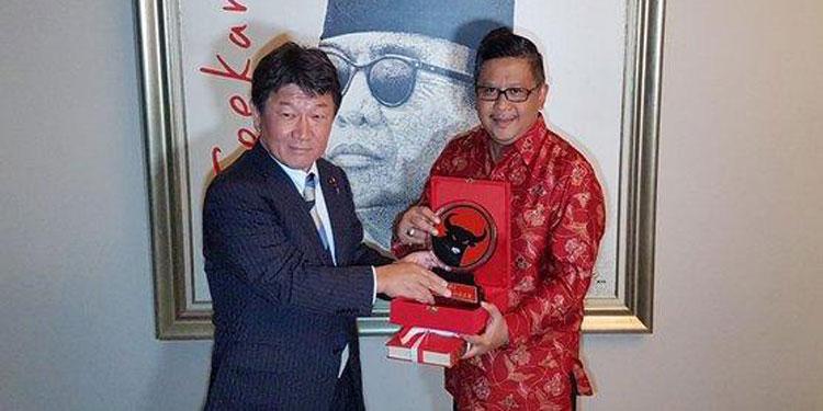 PDIP dan LDP Topang dan Perkuat Kerja Sama RI-Jepang