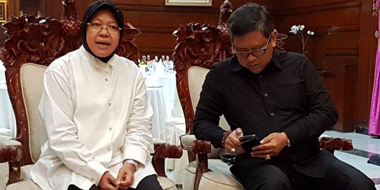 PDIP Hormati Keputusan Risma yang Ingin Tetap di Surabaya