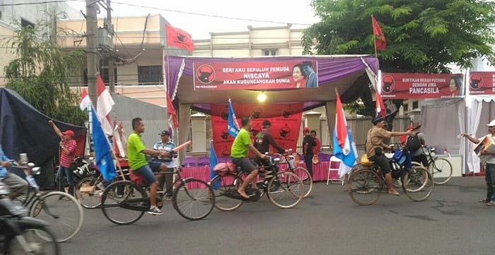 Sukseskan Gerak Jalan Mojokerto-Surabaya, PDIP Sidoarjo Buka Posko