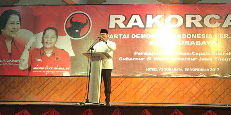 Gus Ipul: PDI Perjuangan Surabaya Semangatnya Luar Biasa