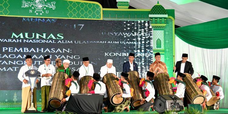 Jokowi Apresiasi Peran NU Membawa Semangat Persatuan Bangsa