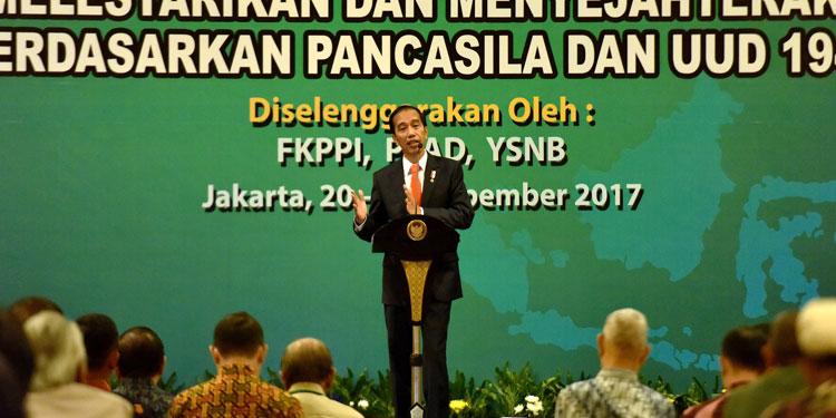 Jokowi: Nilai-nilai Pancasila Harus Terus Disampaikan kepada Anak-Anak