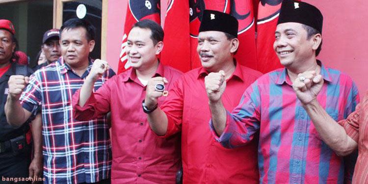 PDIP Nganjuk Targetkan 70 % Suara untuk Kemenangan Novi-Marhaen