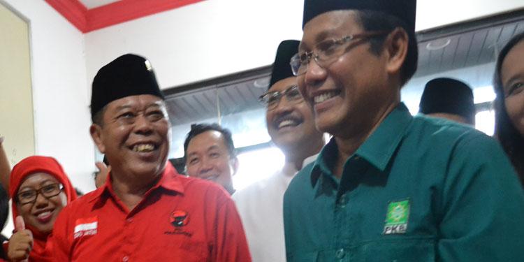 Rakor Perdana, PDIP-PKB Jatim Siapkan Strategi Pemenangan