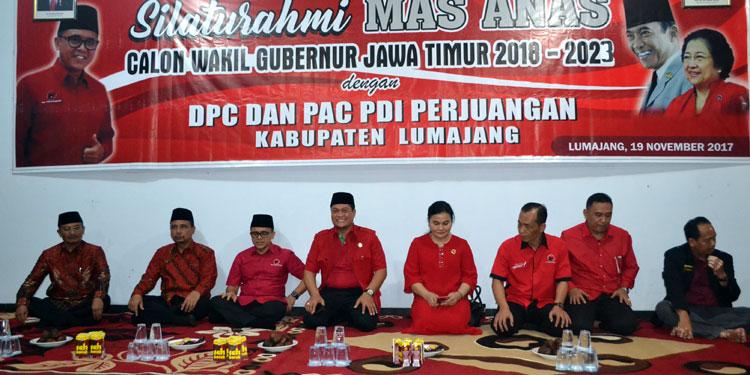Kader dan Simpatisan PDIP di Tapal Kuda Bertekad Menangkan Gus Ipul-Mas Anas