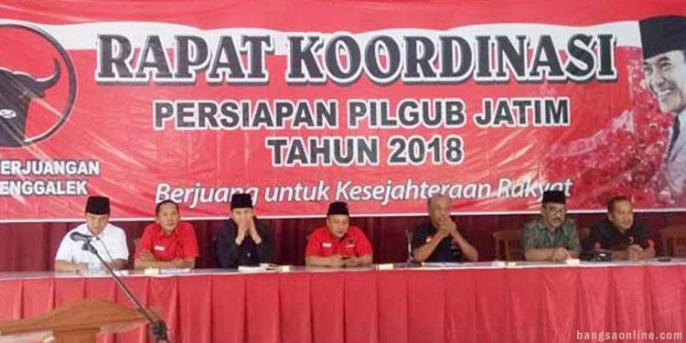 PDIP dan PKB Trenggalek Rapatkan Barisan Menangkan Gus Ipul – Mas Anas