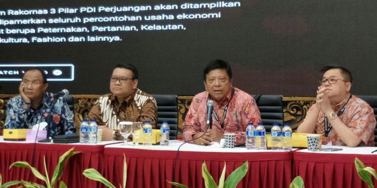 Di Rakornas, Kader PDIP Berlatih Pengembangan Usaha Lele hingga Singkong