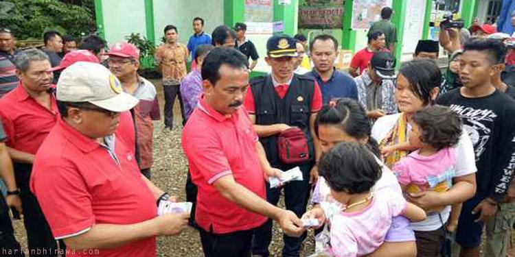 Samanhudi Pimpin Baksos di Lokasi Bencana Pacitan