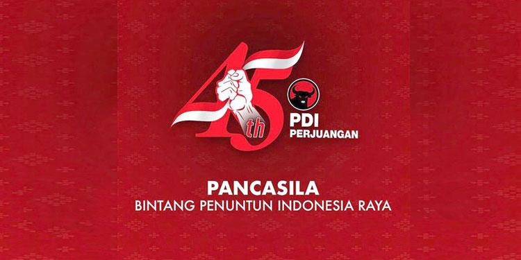 Besok, Kader Partai Serentak Peringati HUT ke-45 PDI Perjuangan