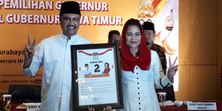 """""""Kami Jadi Dwi Tunggal untuk Memimpin Jawa Timur"""""""