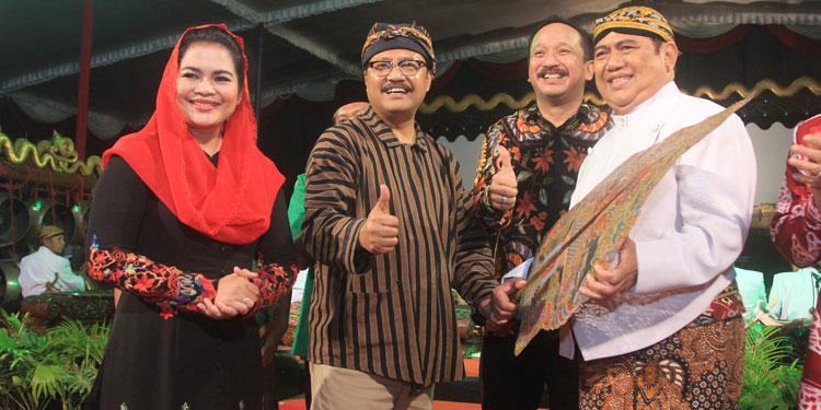 Doa Bupati Ponorogo untuk Gus Ipul: Mudah-mudahan Nanti Gubernur