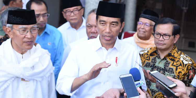 Berawal dari Sumbar, Jokowi Akan Berikan Sertifikat ke Masjid se-Indonesia