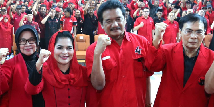 PDIP Kediri Patok 60 Persen Suara Kemenangan Gus Ipul-Puti