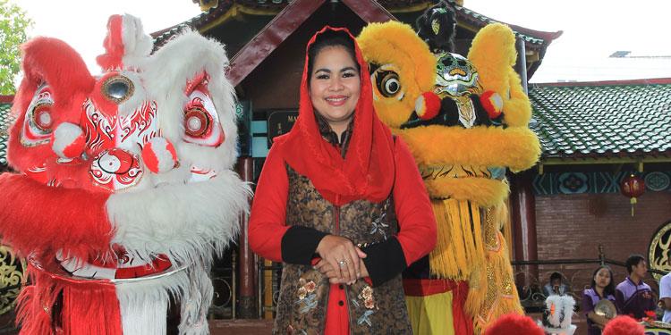 Tahun Baru Imlek, Gus Ipul-Puti Kenang Peran Gus Dur dan Megawati