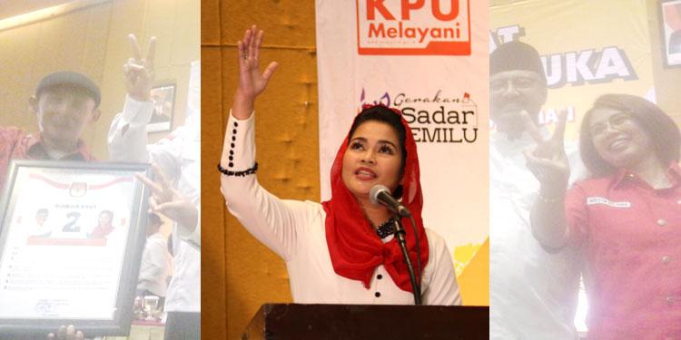 Siap Ayomi Masyarakat Jatim, Puti Bacakan Puisi