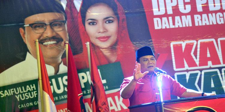 Wasekjen PDIP: Sikap Pribadi Presiden Jokowi Sangat Jelas, Dukung Gus Ipul-Puti