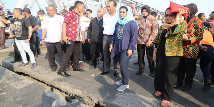 Puti Dorong Pemerintah Perbaiki Jembatan Widang Sebelum Lebaran