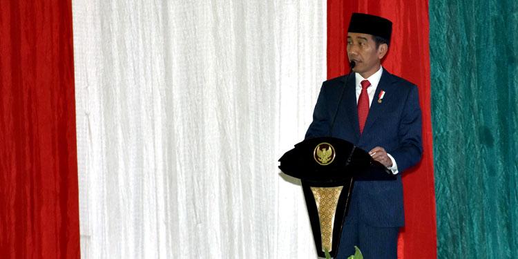 Jokowi: Mari Kita Jalankan Ibadah Puasa dengan Hati Damai