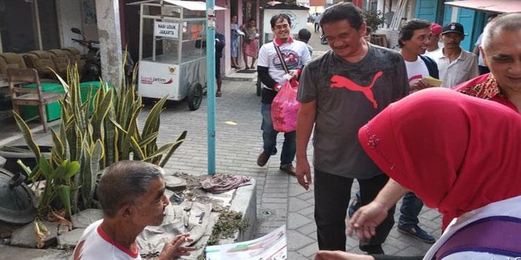 PDIP Kota Kediri Ngabuburit Keliling Kampung Kenalkan Gus Ipul–Puti