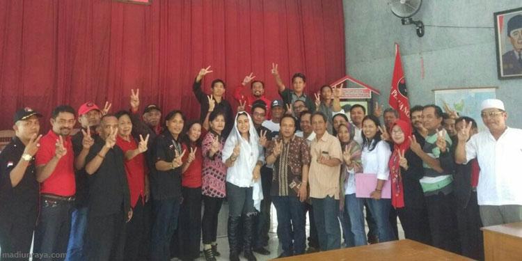 Gunung Kidul Apresiasi Totalitas PDIP Trenggalek Menangkan No 2