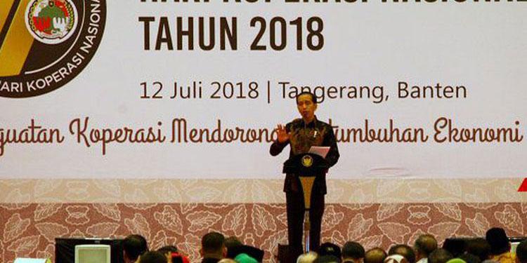 Jokowi Ingin Ada Koperasi Indonesia yang Mendunia