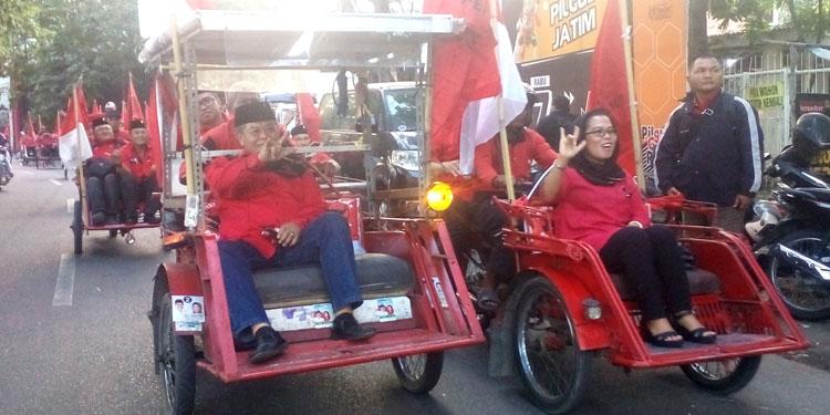 Di Pemilu 2019, PDIP Jatim Targetkan Minimal 20 Persen