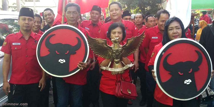 Daftarkan 50 Caleg, Ini Target PDIP Surabaya
