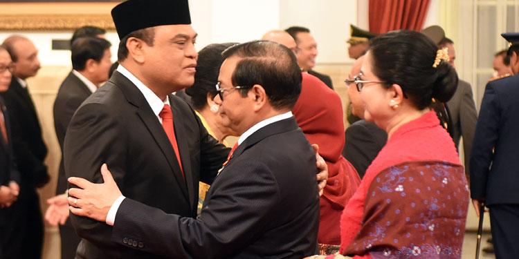 Dilantik jadi Menteri PAN-RB, Syafruddin Siap Selesaikan Target Asman Abnur