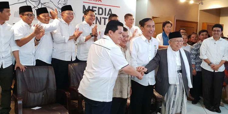 Pdip Jatim Erick Thohir Ketua Nomor Urut Capres