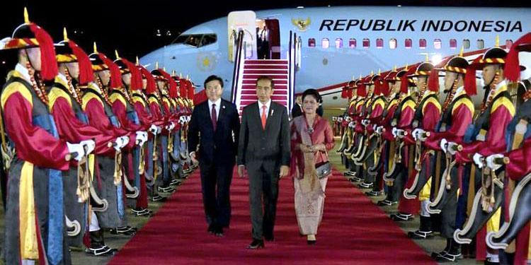 4 Cerita Unik dari Lawatan Jokowi ke Korea Selatan
