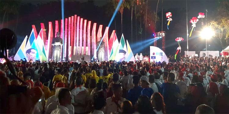 Dana Awal Kampanye Jokowi-Ma'ruf Rp 11 M, Ini Rinciannya