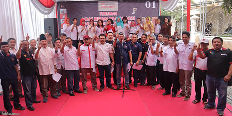 Komunitas Relawan Jokowi-Ma'ruf Jatim Resmikan Rumah Bersama Pelayan Rakyat