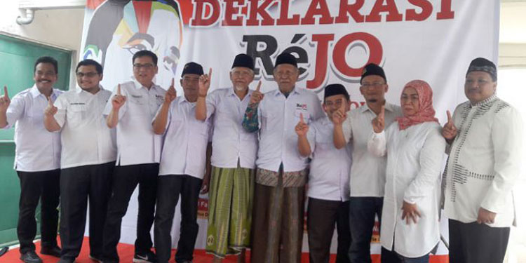 Deklarasi Rejo Gresik, Kiai Robbach: NU akan Hancur Kalau Jokowi-Ma'ruf Kalah