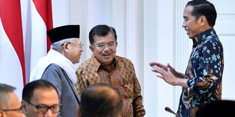 Dibuka Jusuf Kalla, Jokowi-Ma'ruf Bakal Hadiri Rakernas TKN di Surabaya