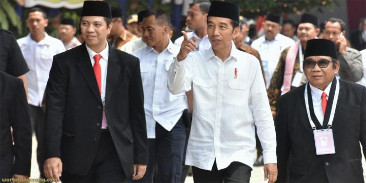 Pemilu Diwarnai Tebar Fitnah dan Saling Menjelekkan, Jokowi: Itu Bukan Nilai Islami