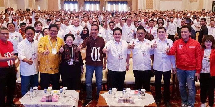 Ini, Arahan Jokowi kepada Timses