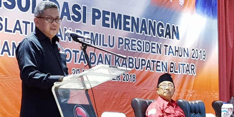 Tantangan bagi Kader PDIP Blitar, Menangkan Jokowi-Ma'ruf 90 Persen