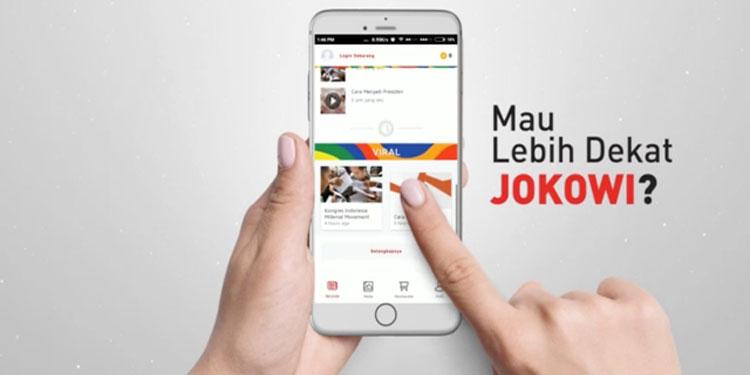 "TKN Luncurkan Aplikasi ""Jokowi App"""