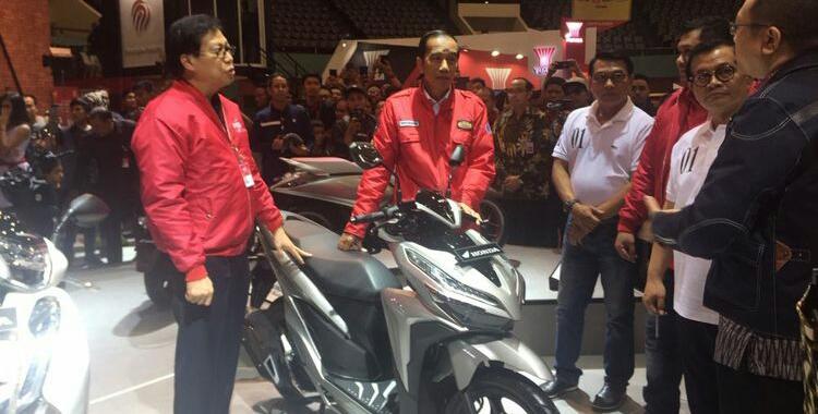 Produk 6,5 Juta Motor, 600 Ribu Ekspor, Jokowi: Sudah Masuk 45 Negara