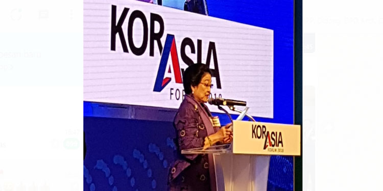 Megawati: Semenanjung Korea adalah Semenanjung Kedaulatan Bangsa Asia