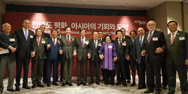 Ini, Paparan Megawati soal Peran Indonesia dalam Perdamaian Korea